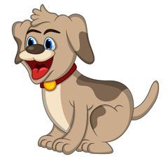 Dog - Cute Puppy Cartoon