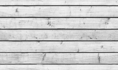 Rough white wooden wall, seamless background