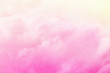 artistic cloud and sky with pastel gradient color with grunge tecture