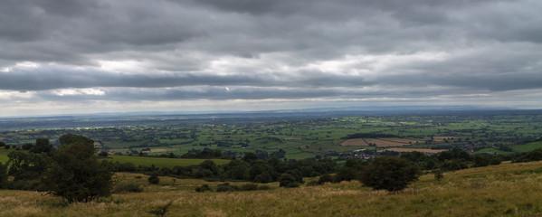 View across Somerset