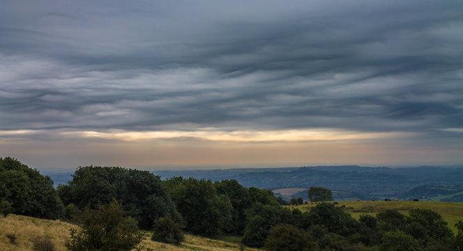 View to Glastonbury Tor