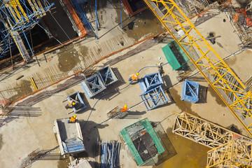 Construction site - Top view