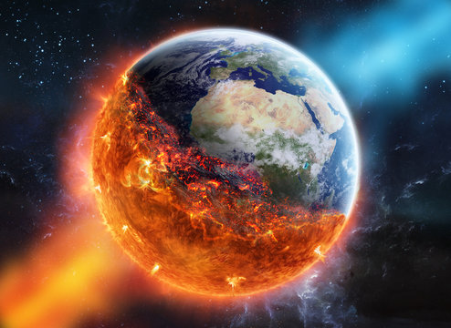 The end of planet Earth