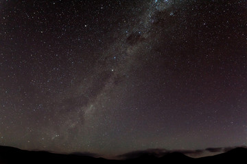 Milky Way over the Andes