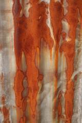 Rusted corrugated zinc sheet