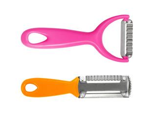 Paring knife kitchen tools isolated on white background