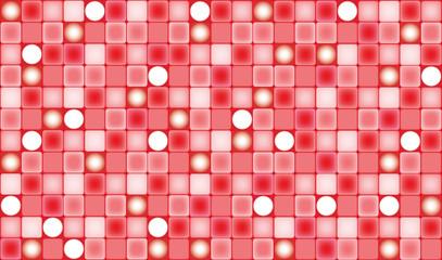 Fond mosaïque rouge