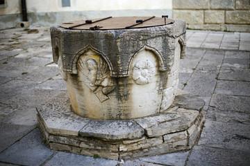 Old well in Motovun, Istria - Croatia