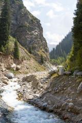 mountain river Kumbelsy