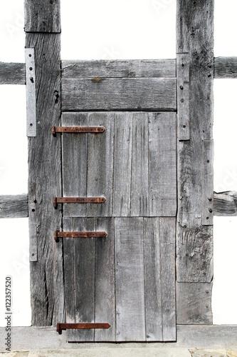 alte holzt r im fachwerkhaus stockfotos und lizenzfreie bilder auf bild 122357520. Black Bedroom Furniture Sets. Home Design Ideas
