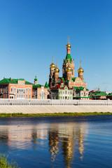 Church of the Nativity of the Blessed Virgin in Yoshkar-Ola. Russia, Republic of Mari El