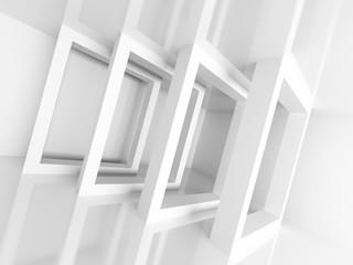 Abstract Futuristic Architecture Element Design Background