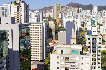 View of the Funcionarios neighborhood. Belo Horizonte, Minas Gerais, Brazil. September 2016