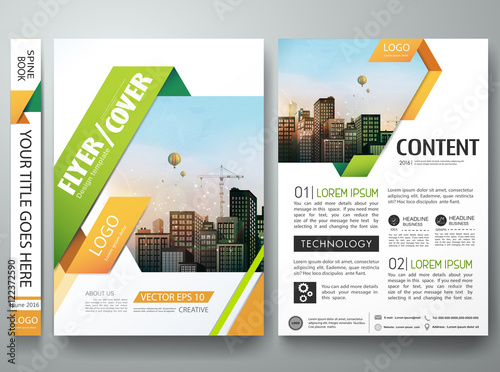 Brochure design template vectorers report business magazine brochure design template vectorers report business magazine poster layout portfolio templateabstract square pronofoot35fo Images