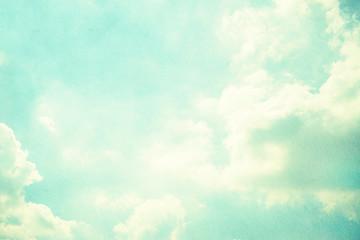 grunge retro sky background