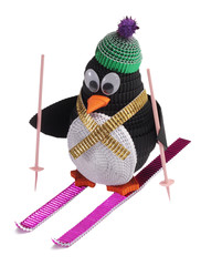 Toy of Quilling. Penguin
