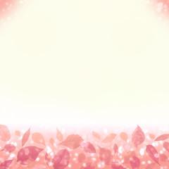 春秋のイメージ 輝く落ち葉