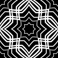 Abstract geometric ornament.