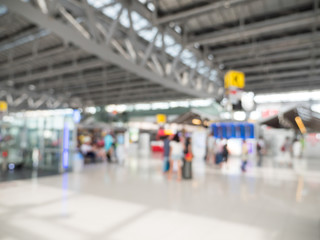 Blur background of flight board in the airport 3