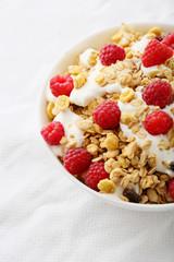 Healthy breakfastin bowl
