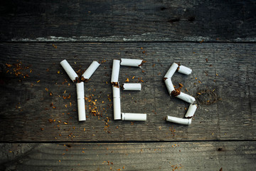 Yes smoking , no for health