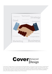 Book Cover for Business Concept Template