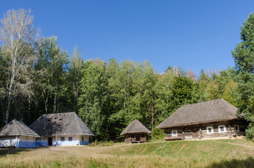 Reconstruction of an old Ukrainian village