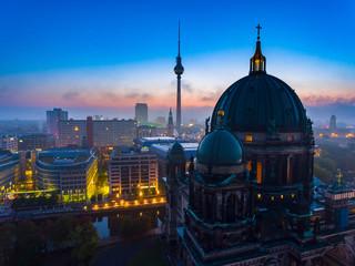 Berlin-Sonnenaufgang, Berliner Dom