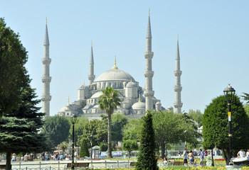 Panoramica Mezquita Azul
