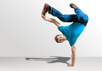 Breakdancing.