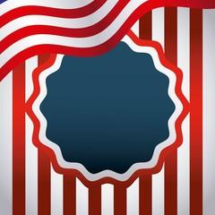 united states of america emblem vector illustration design