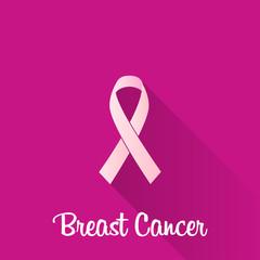 breast cancer. pink ribbon