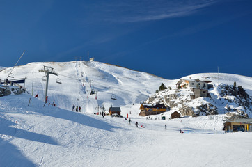 French ski resort Pierre Saint Martin
