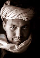 Beduin portrait