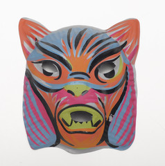 Cat Vintage Halloween Mask