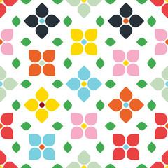 Tapeta w stylu kwiatowym Scandi Style - 122446536