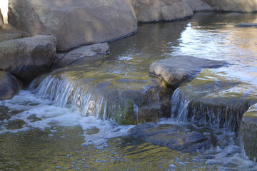 Winter Lake Waterfall, Cortez Park, Phoenix, AZ
