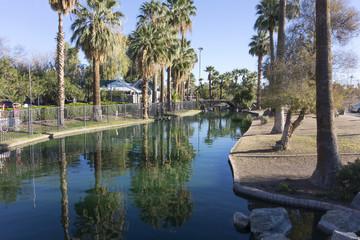 Enchanted Island in Encanto Park, Phoenix, AZ
