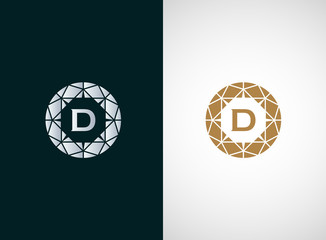 Diamond logo vector icon design