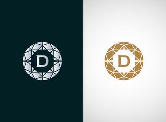 Diamond logo vector icon design