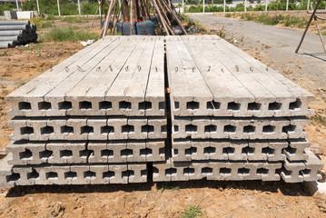 I Shape Concrete Piles