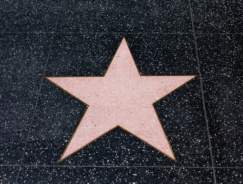 Hollywood Empy Blank Star