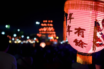 Lanterns of chinese new year