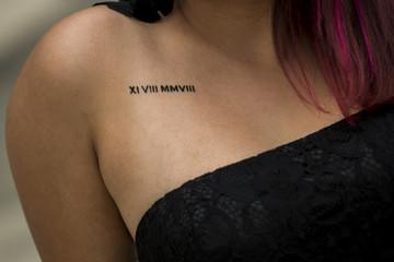 Jahrestag Tattoo