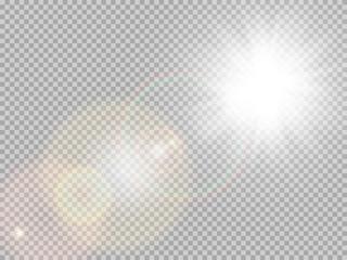 Obraz Sunlight special lens flare. EPS 10 - fototapety do salonu