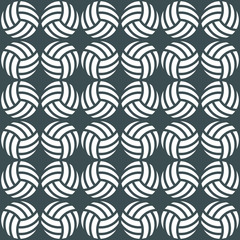 volleyball pattern 1 / Seamless pattern of volleyball  balls for sports design.