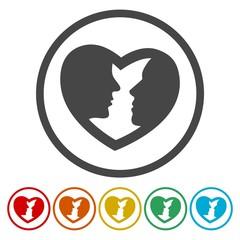 Valentine's day vector icon