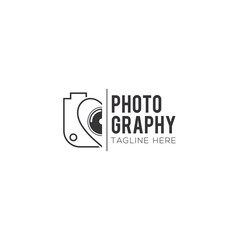 Photography Creative Concept Logo Design Vector