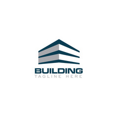 Abstract Building Creative Concept Logo Design