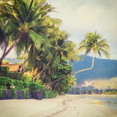 Wall Mural - Asian tropical beach paradise
